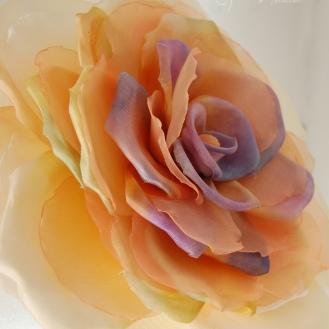 flor de seda y organza1