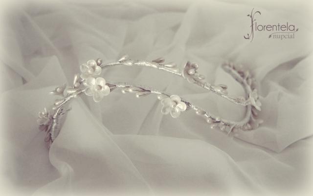 tocado novia porcelana fria