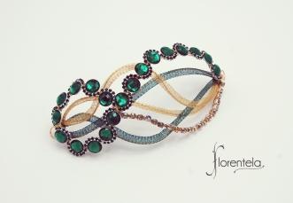 tocado-joya-ondas-verde-esmeralda