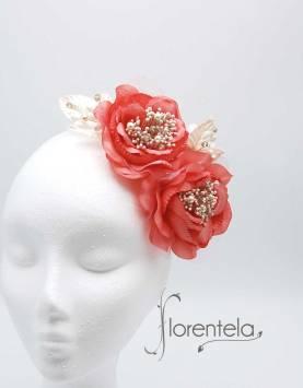 flores-para-mantilla-coral-marfil
