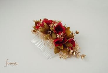 peineta-golden-red