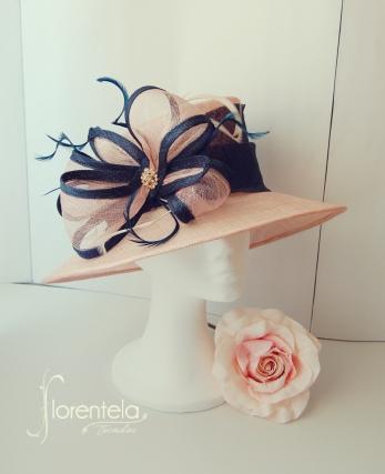 sombrero-rosa-y-azul-marino