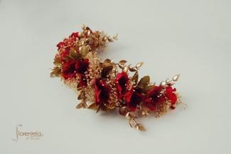 tocado-tiara-golden-red