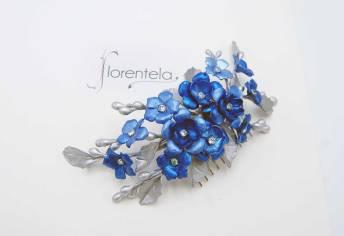 peineta-azul-flores-dobles-circonitas