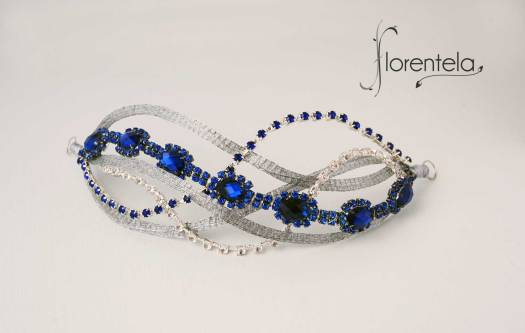 tocado-joya-ondas-plata-azul