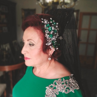 adorno-mantilla-verde-plata-vieja