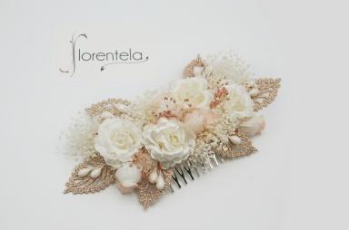 peineta-hojas-guipur-flores-tela